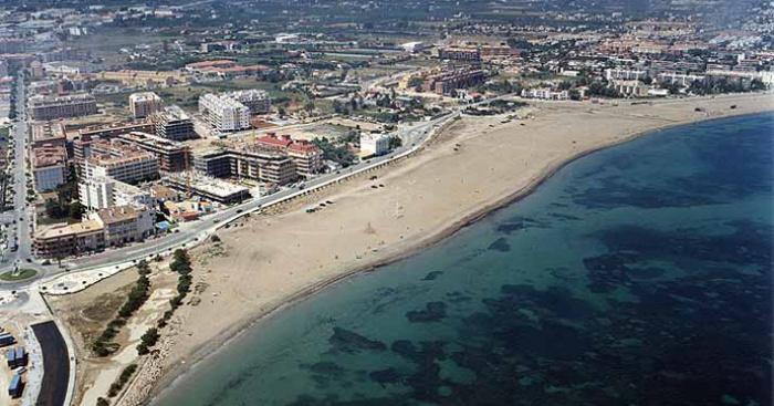 Playa Punta del Raset, Dénia, Alicante / Fuente: mapama.gob.es