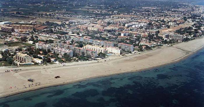 Playa Les Marines, Dénia, Alicante / Fuente: mapama.gob.es