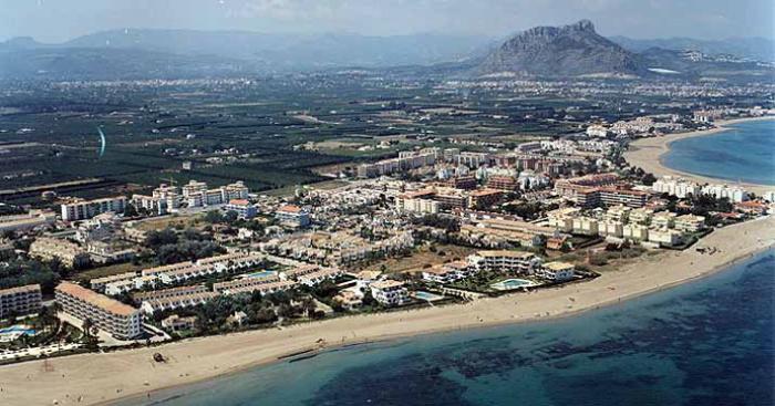 Playa Les Bovetes, Dénia, Alicante / Fuente: mapama.gob.es