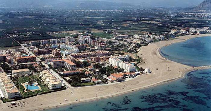 Playa Molinos y Palmeras, Dénia, Alicante / Fuente: mapama.gob.es