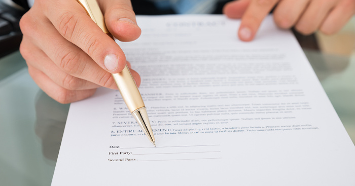 can an employment contract be backdated