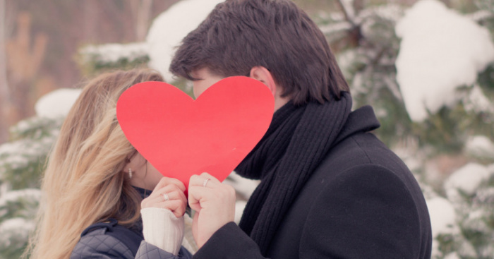 Dating Valentines Day kaarten