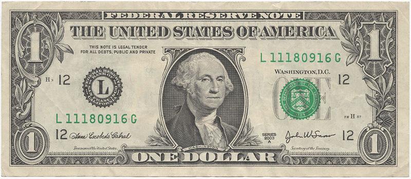 un dólar, cada día da para menos en eeuu
