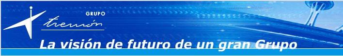imagen de la portada de la página web de grupo tremón