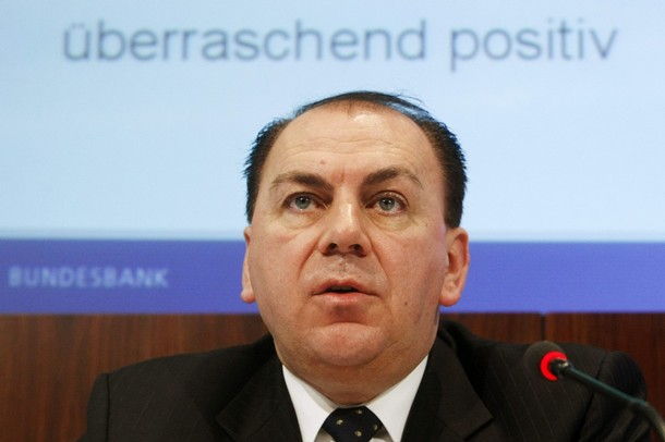 Axel Weber, presidente del Bundesbank y miembro del banco central europeo (bce)
