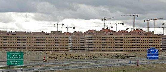vista panorámica del municipio toledano de seseña