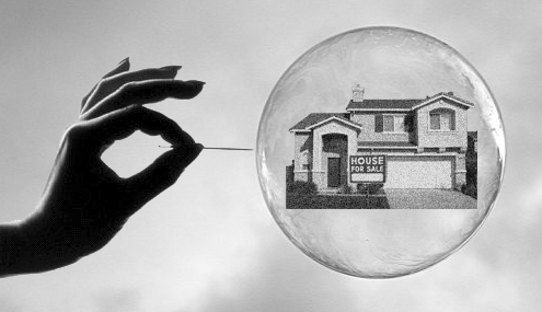 el debate queda en cómo se desinflará la burbuja
