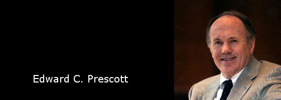 Edward C. Prescott, premio nobel de economía