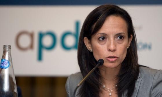 Beatriz Corredor, ministra de Vivienda, en una foto de archivo