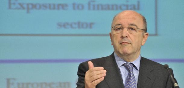 joaquín almunia, Comisario de Asuntos Económicos y Monetarios de la Unión Europea