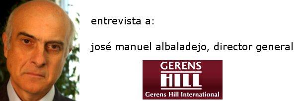josé manuel albaladejo, consejero general de gerens hill e impulsor de aliancia zero