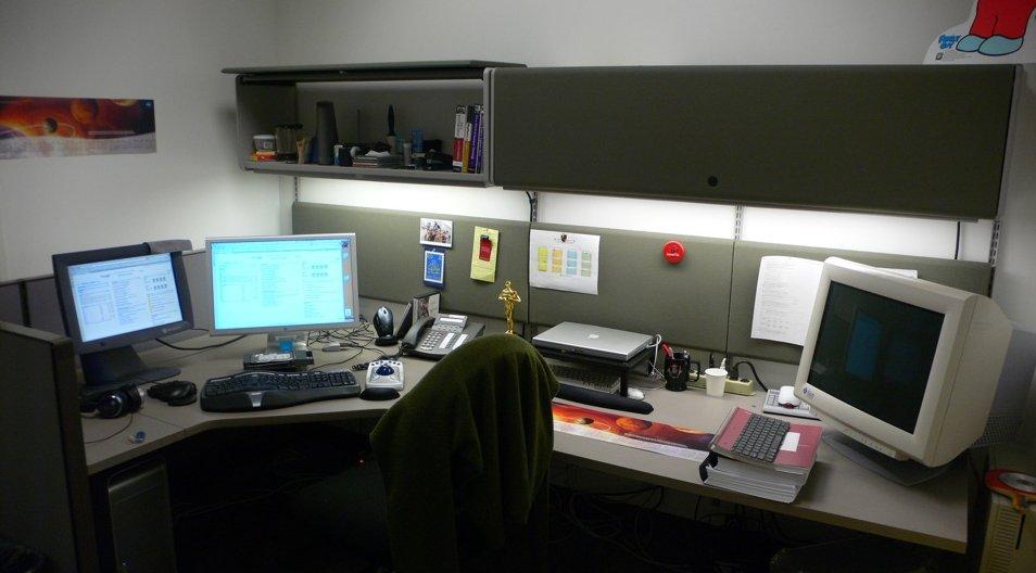 Apple fotos de sus oficinas en cupertino idealista news for Oficinas apple