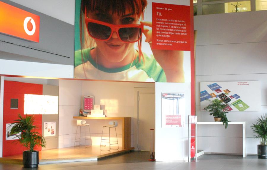 Vodafone: fotos de las oficinas de una de las mayores operadoras en España