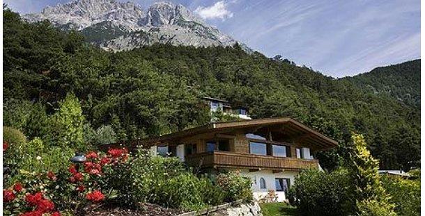 la casa de lujo en proceso de sorteo en los alpes (fuente:the daily telegraph)
