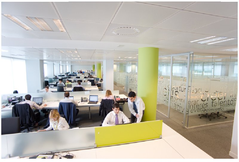 Everis fotos de las oficinas de una de las mayores for Vaciado de oficinas en madrid