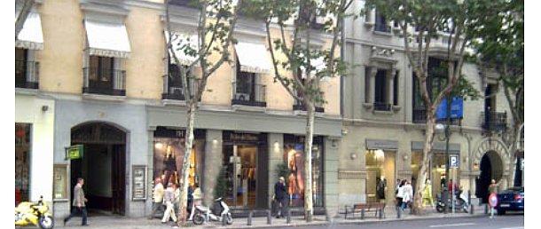 locales comerciales en la calle serrano de madrid
