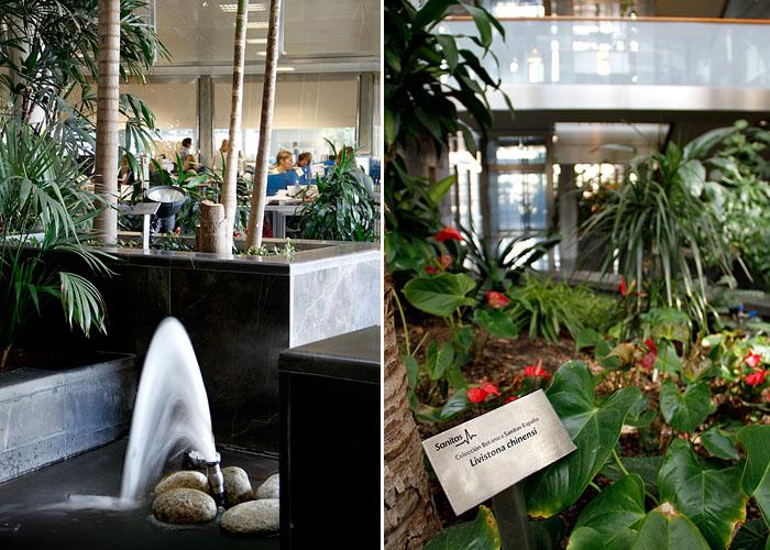 Sede sanitas fotos de sus ecol gicas oficinas en espa a for Sanitas tarragona oficinas
