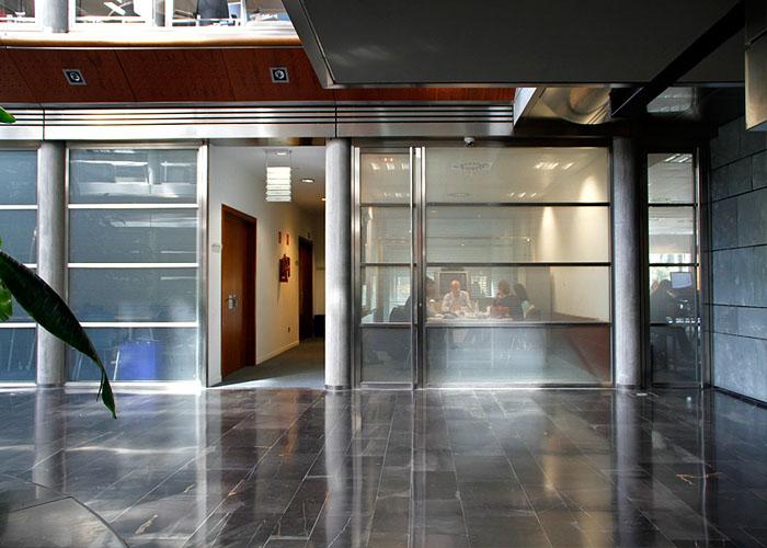 Sede sanitas fotos de sus ecol gicas oficinas en espa a - Oficina sanitas zaragoza ...