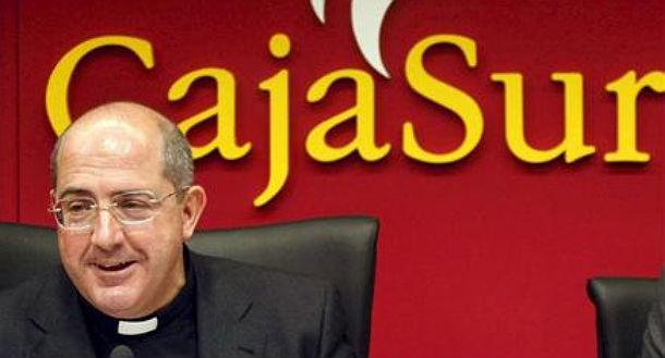 El ex presidente de CajaSur, el sacerdote Santiago Gómez Sierra