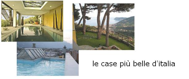 las casas más bonitas de italia