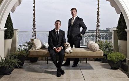 los empresarios Christian y Nick Candy