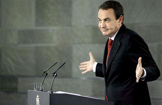 zapatero sorprendió con sus declaraciones al mundo de la vivienda