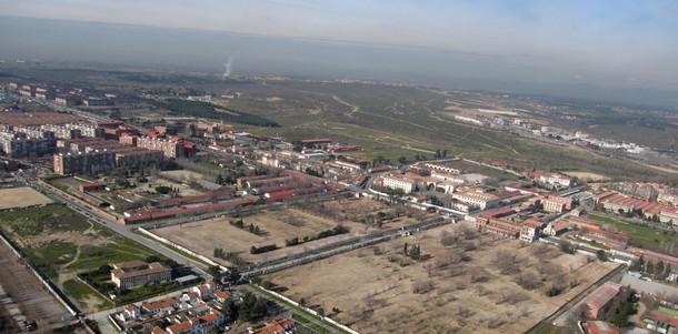 solar perteneciente a la 'operación campamento' de madrid