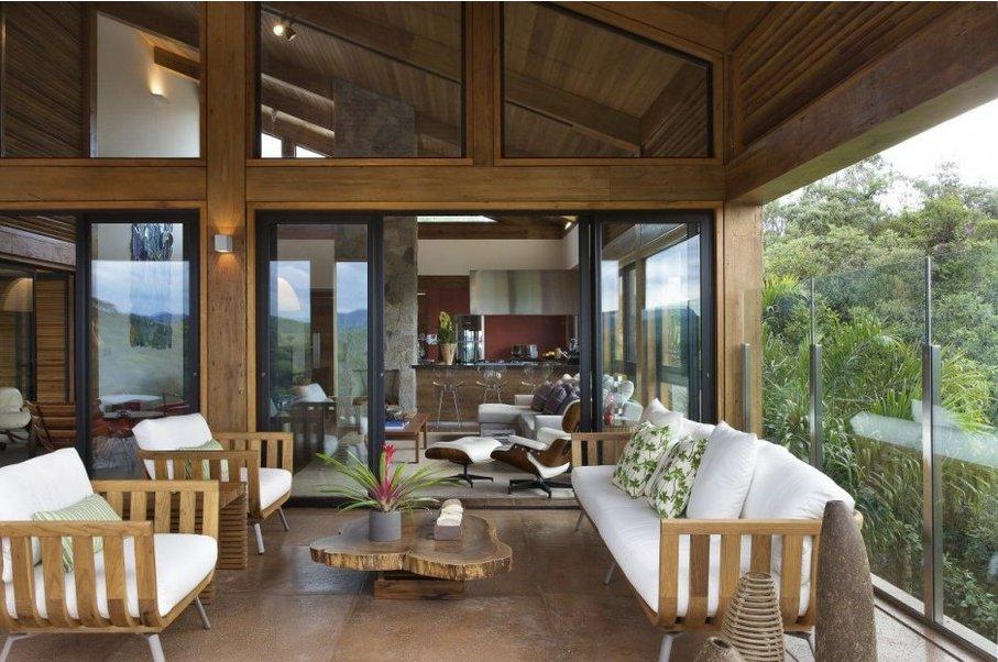Desde brasil rural por fuera moderna por dentro - Ver casas decoradas por dentro ...