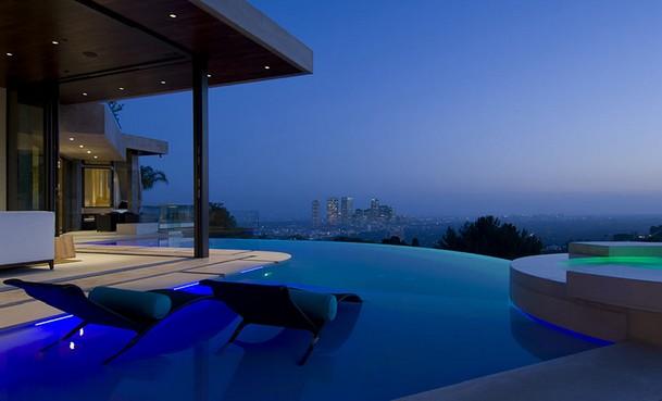 vista de san francisco y el ocáno desde la terraza de la vivienda