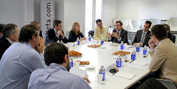 foto del encuentro de expertos del sector