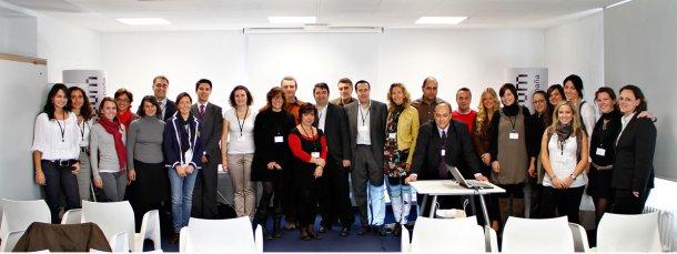 asistentes al curso celebrado en madrid en octubre