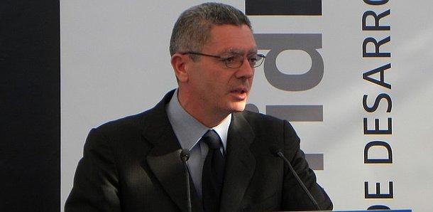 alberto ruíz-gallardón, alcalde de madrid