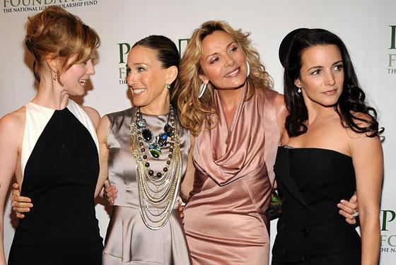 Sarah Jessica Parker, segunda por la izquierda, busca casa en nueva york