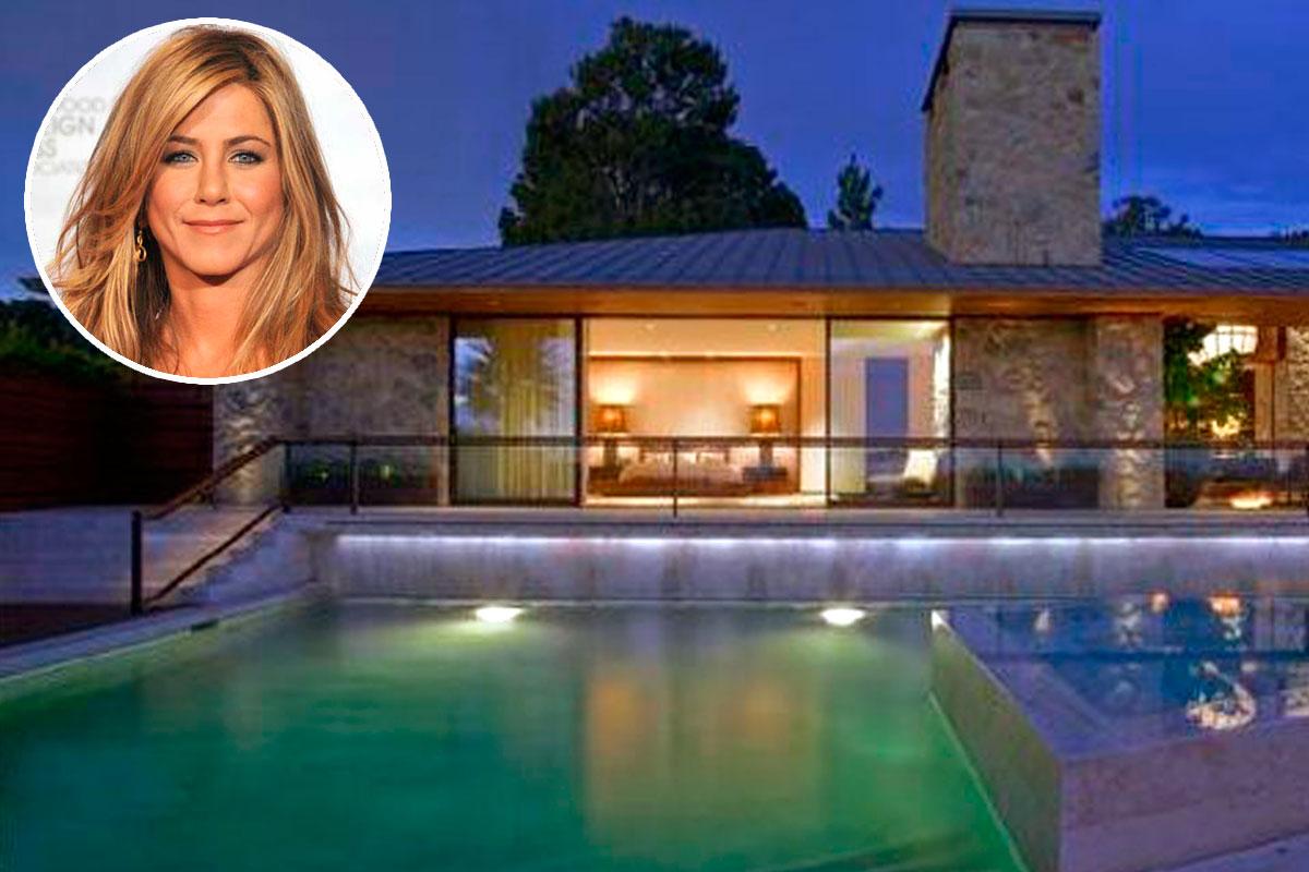 Casas de famosos jennifer aniston pone en venta su casa for Para su casa