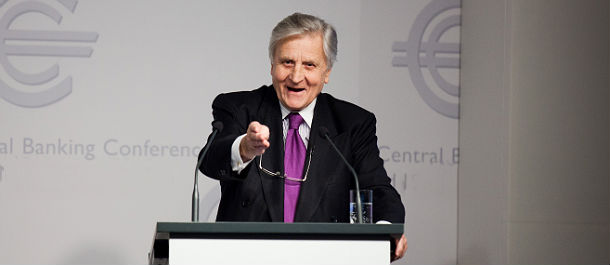 el presidente del bce, jean claude trichet