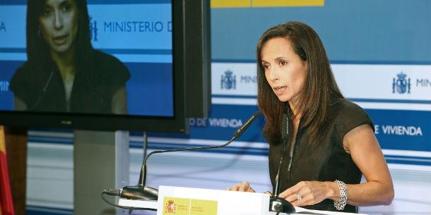 la ex ministra de vivienda (imagen de archivo)