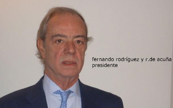 fernando rodríguez acuña, presidente de rr. de acuña y asociados
