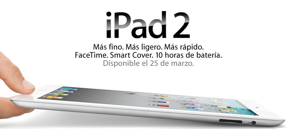 anuncio del ipad 2