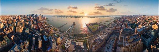 vistas panorámicas desde el trump soho de nueva york