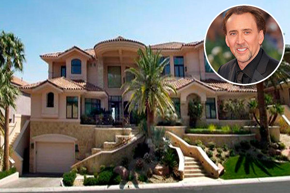 Nicolas cage pierde 9,5 millones al vender su mansión en rhode ...