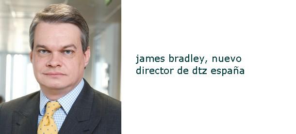 james bradley, nuevo director dtz en españa