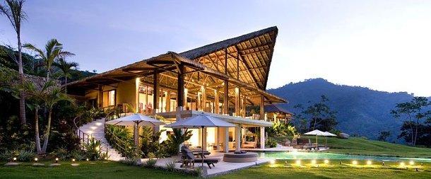 """el resort """"villa mayana"""" diseñado por el arquitecto enrique barascout"""