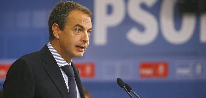 zapatero anuncia que no será canditado a la moncloa en 2012