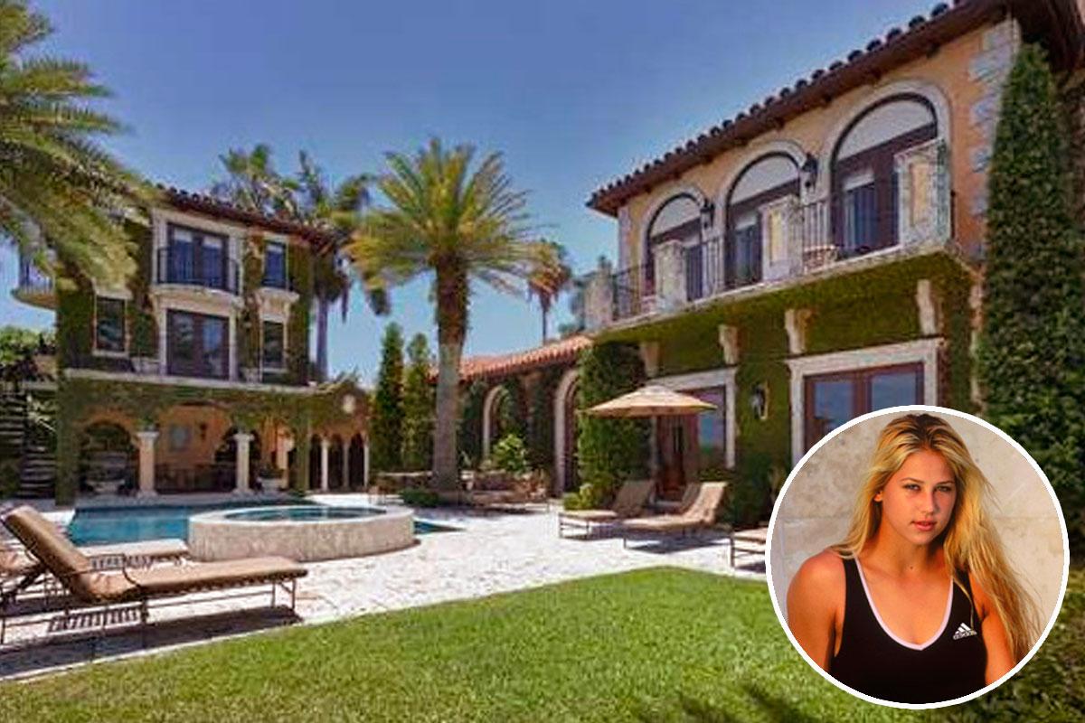 Casas de famosos a la venta la casa de la ex tenista anna for Fotos casas famosos