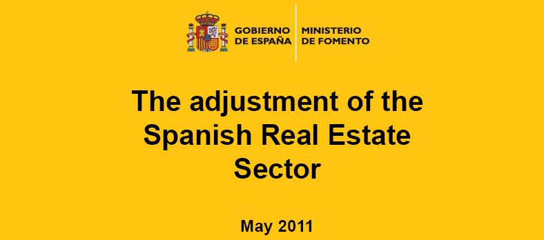 portada de la presentación a inversores extranjeros del ministerio de fomento