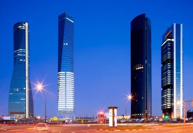 complejo cuatro torres business area de madrid