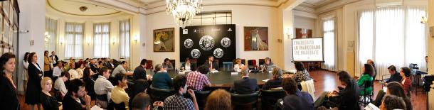 rueda de prensa de la presentación del Pabellón de España en la 54 edición de la Bienal de Venecia