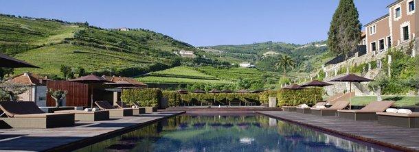 vistas del exterior del hotel aquapura douro valley