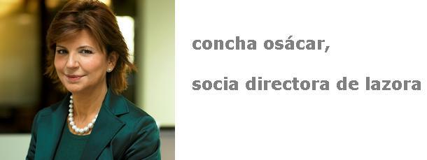 concha osácar, socia directora de lazora