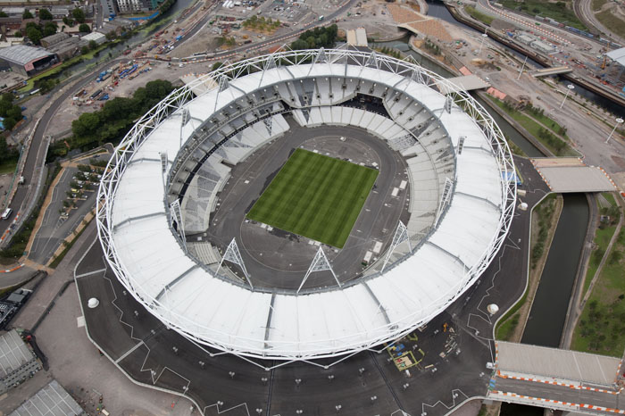 imagen del estadio olímpico de londres (foto: london2012.com)